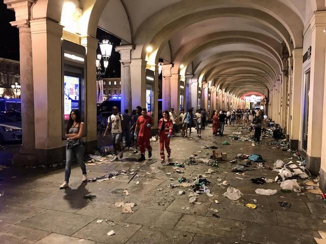 Torino, un giovane juventino racconta l'incubo vissuto in piazza San Carlo